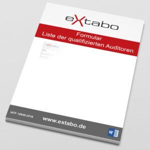 FO Liste der qualifizierten Auditoren Rev.01 Image